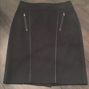 Anne Taylor Pencil Skirt, Size 0